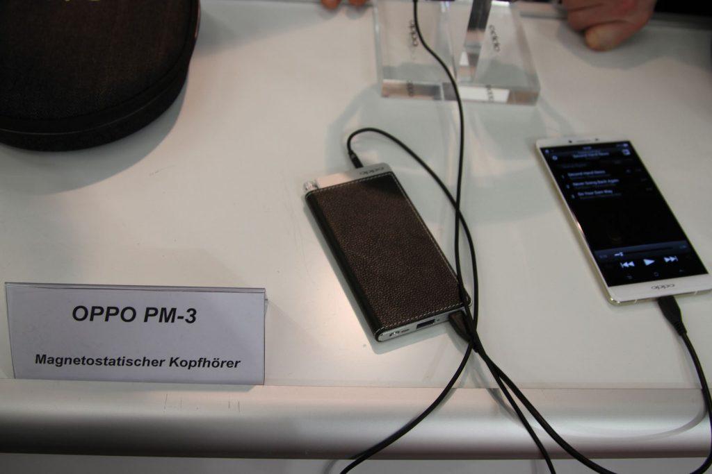 Das ist der mobile Kopfhörerverstärker Oppo HA-2