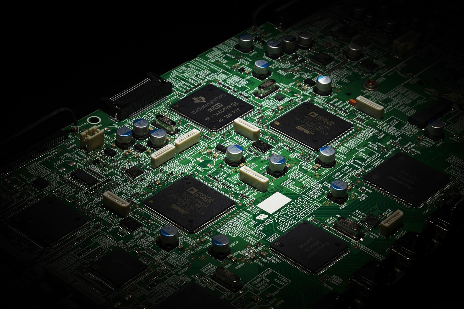 TX-RZ3100_RZ1100 3 DSPs Image