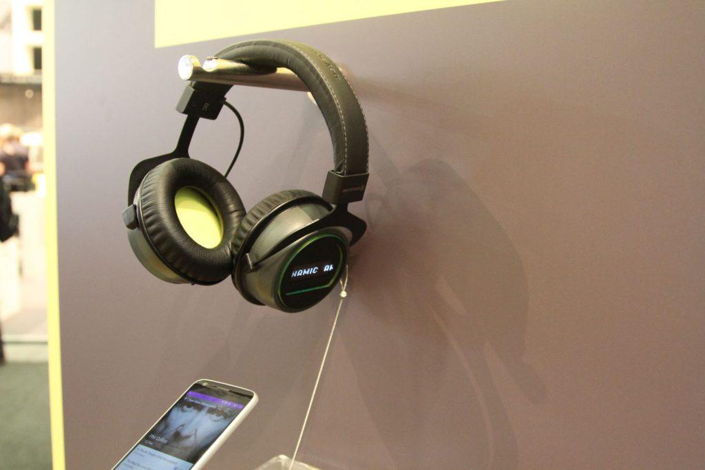 Die Konzeptstudie den aptX HD Kopfhörers