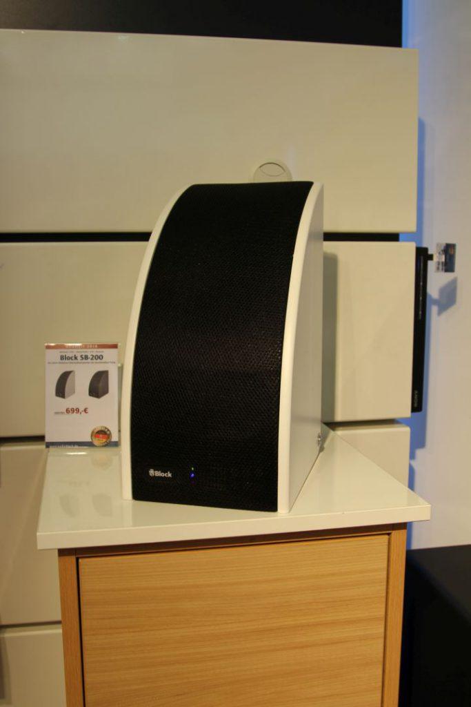 Der Block SB-200 ist eine der Neuheiten und das bisher größte Modell der SB-Serie