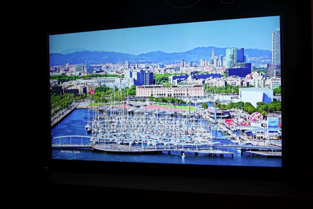 Die Farbdarstellungen des OLED-TV von Grundig sind großartig
