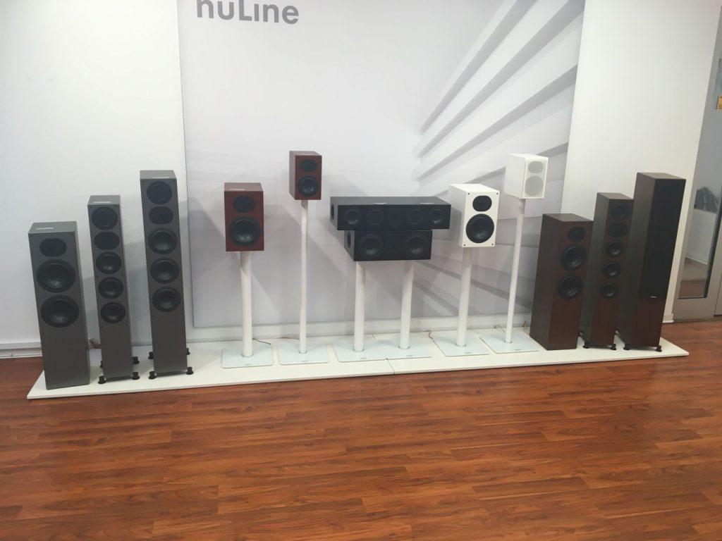 auch die komplette aktuelle NuLine Serie gibt es zu bestaunen