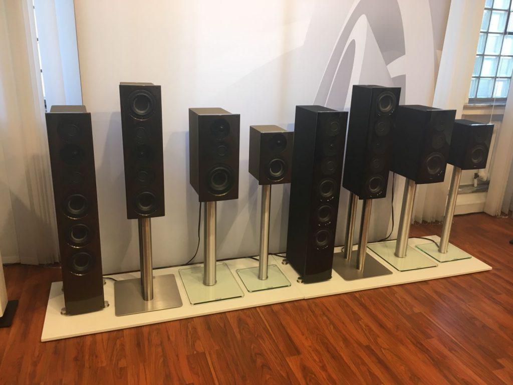 aktuelle NuVero Lautsprecher