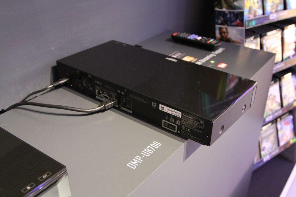 Die Rückseite des UB504
