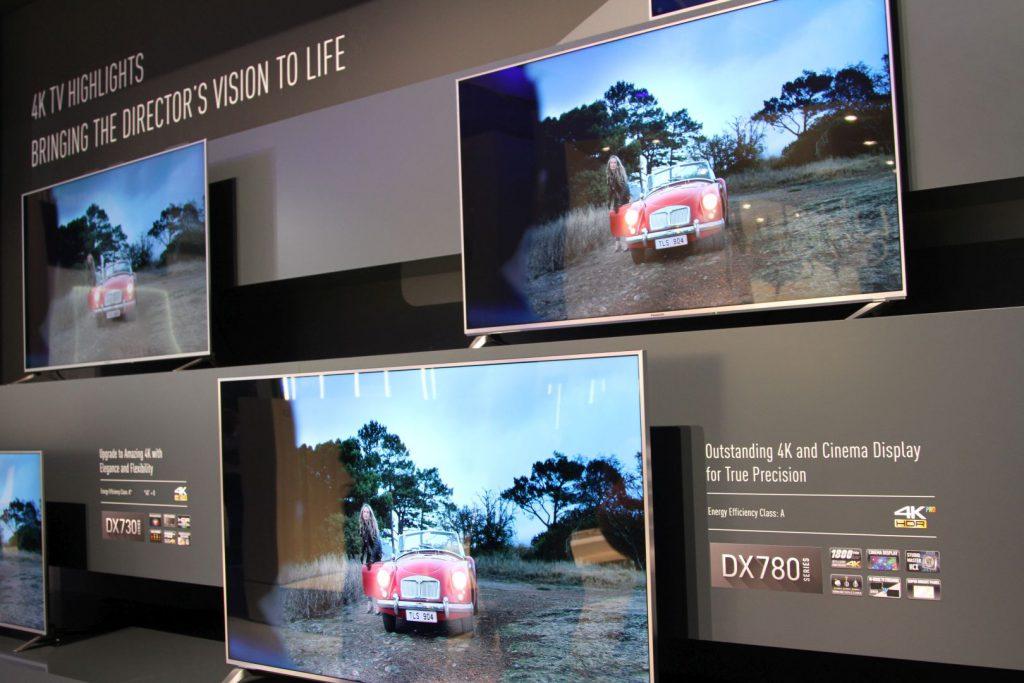 4K LCD TVs