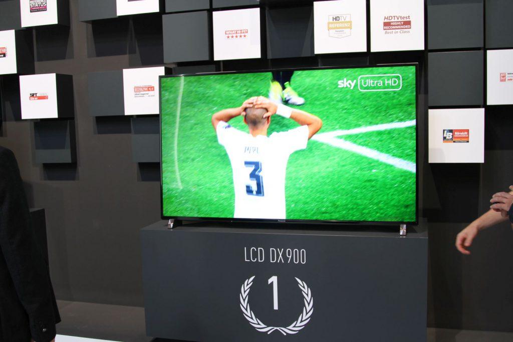 Der Panasonic DXW904 hat uns am besten von allen LCD Fernsehern gefallen.