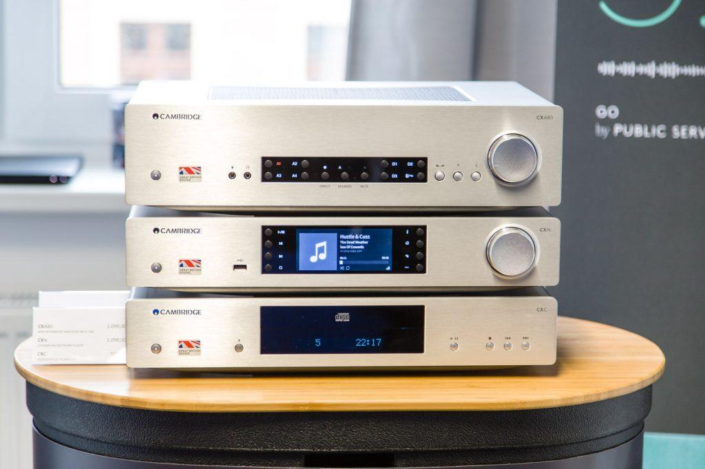 Cambridge Audio CXN, CXC und CXA80