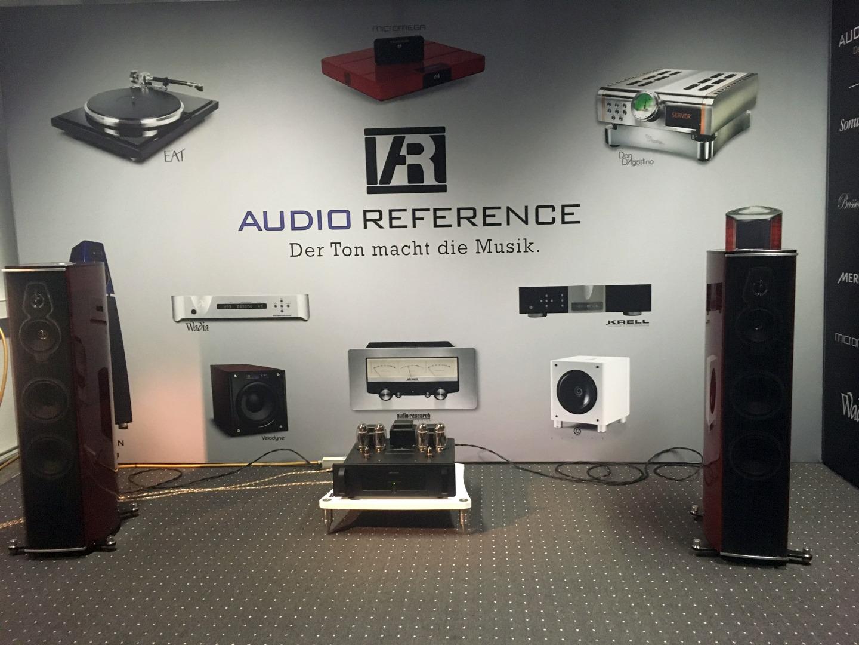 Audio Research Endstufe mit Sonus Faber Lautsprechern