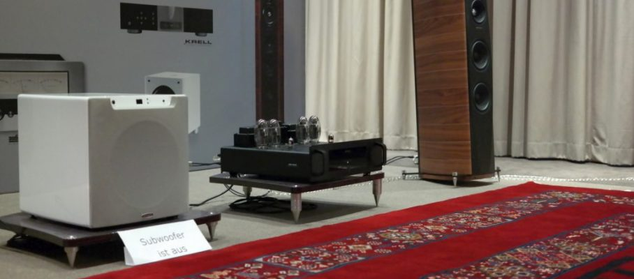 HiFi Convention 2018 Stand von Audio Reference