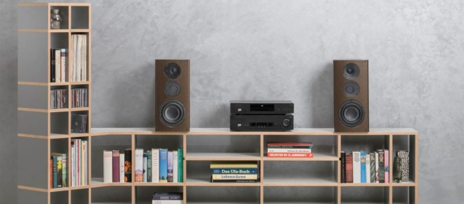 nuVero 60 Goldbraun mit Cambridge Audio CXA80 und Cambridge Audio