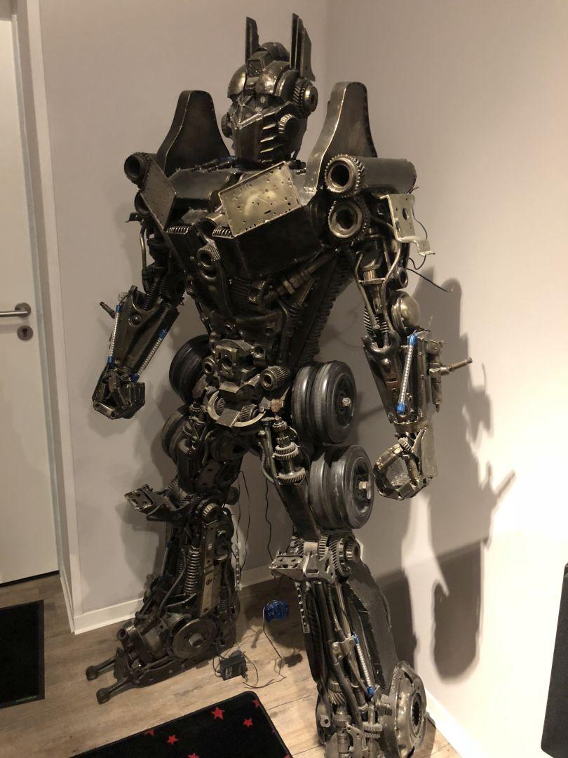 Ein Transformer kann einem bei Grobi begegnen
